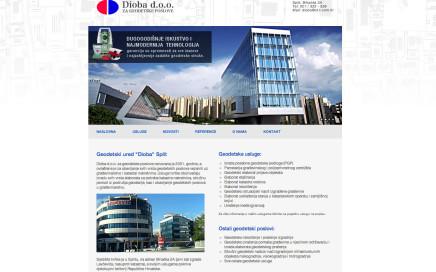 Izrada web stranica za geodete i geodetske urede.