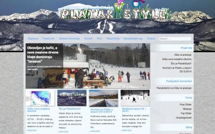 izrada web stranica i web portala Platak.