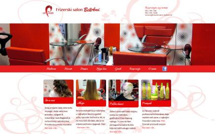 Izrada web stranica za frizerske salone - Rijeka.